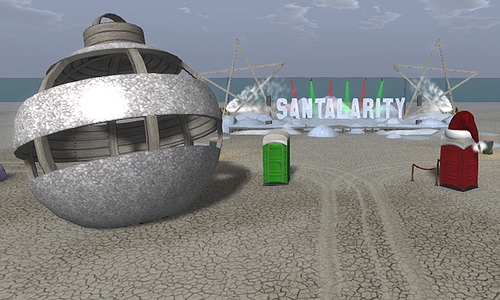 Santalarity…Welcome Ho Ho Hooooooooommmme!
