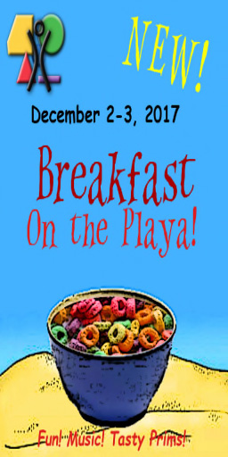 Schedule for Breakfast on the Playa!